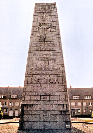 Avranches 2002 - Patton Monument