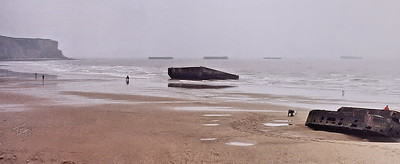 Arromanches 2002 - Artificial Harbour