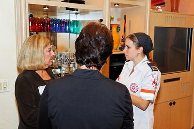 AFMDA Hosts Shira Applebaum Maresky Visit in Northbrook - 9-20-11