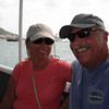 on the water taxi in St Martin.. heading back to the ship