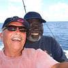 me and Capt Jolly onboard his fishing boat