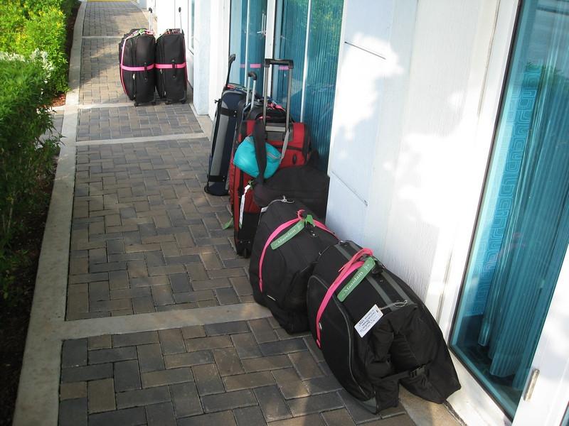 arrival at Hertz..Ft Lauderdale