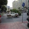 Cruisin' on the boulevard.. a local antique car club drives thru the streets of Almeria