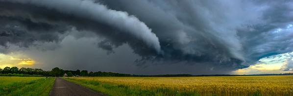 Dutch Cloudscape Art