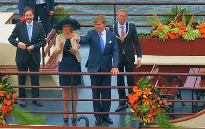 Alex en Maxima in Maastricht