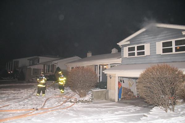 Arlington Heights Fire Department Code 3 Working Fire