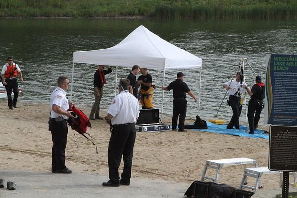 Arlington Heights Fire Dept Interdivisional Dive Box Lake Arlington