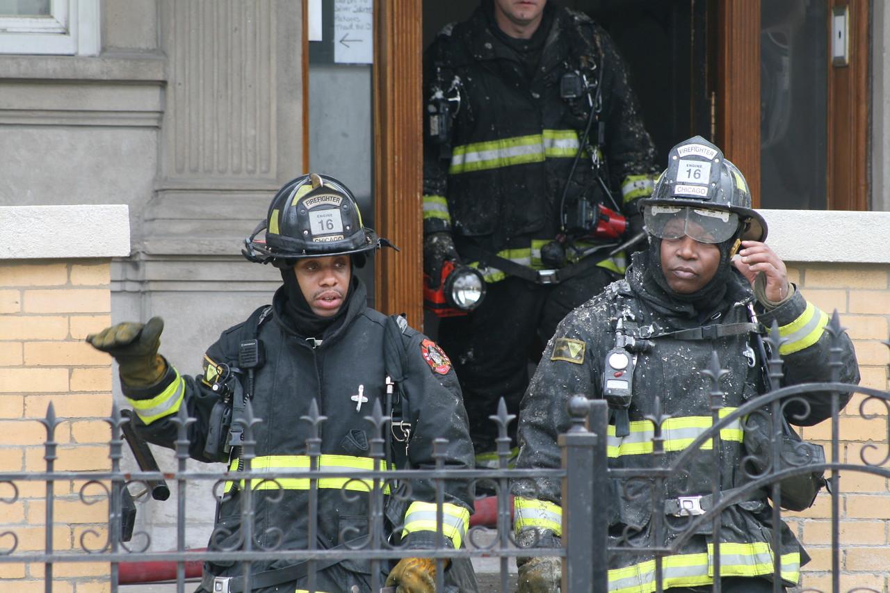 Chicago Fire Department Working Still Alarm Fire 4511 Michigan 364