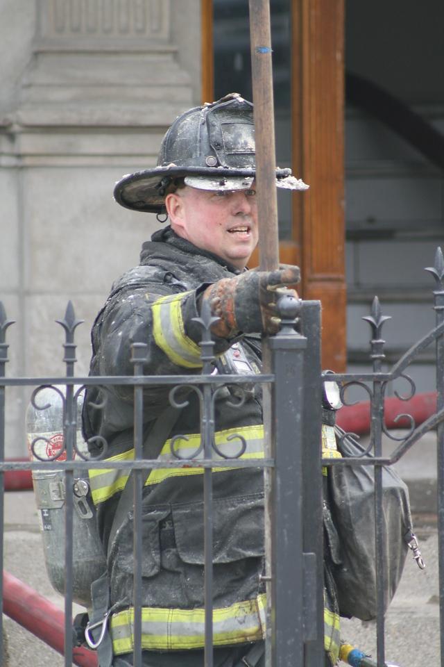 Chicago Fire Department Working Still Alarm Fire 4511 Michigan 358