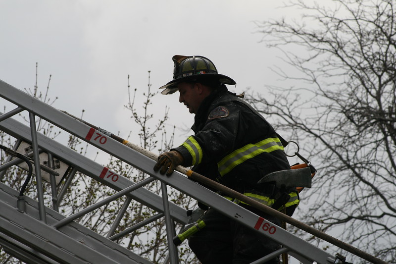 Chicago Fire Department Working Still Alarm Fire 4511 Michigan 357