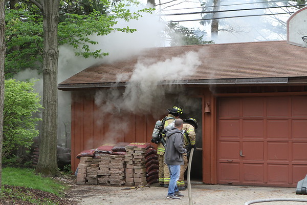 River Forest Garage Fire