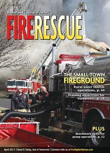 Fire rescue cover April 2011