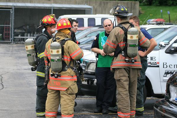 Bensenville Fire department Haz-mat Box 100 Church Street Bensenville police Station