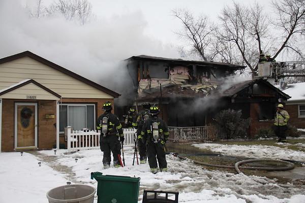 Merrionette Park Fire Department Box Alarm House Fire 11609 S. Sacramento Box #2609