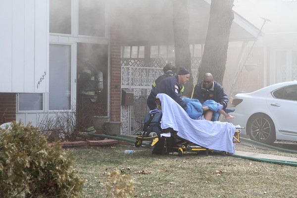 Dolton Fire Department Box Alarm Fire 4823 South Dobson House Fire with 2 Victims