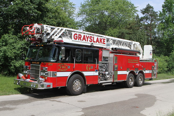Grayslake Fire Department Live Fire Training Gages Lake Road