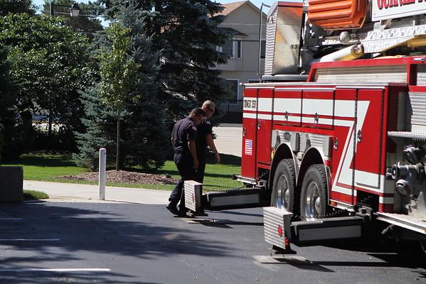 Gurnee Fire Department 9-11 Ceramony