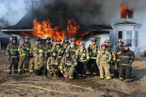 HEBRON-ALDEN-GREENWOOD Fire Prot.Dist. Live Fire Traning