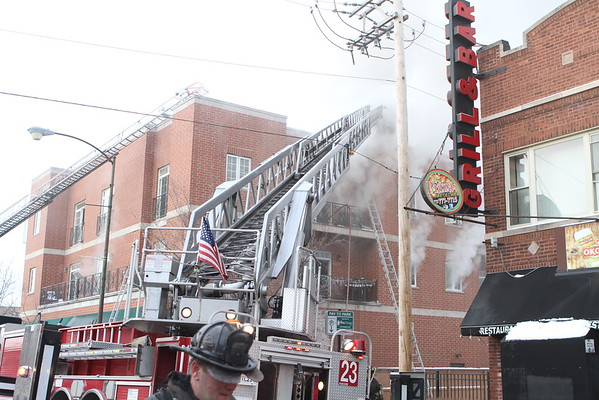 Chicago  Fire 2-11 Alarm Fire  3224 N. Central