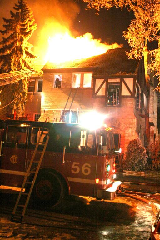 CFD 3-11 Alarm Structure Fire 6436 Hiawatha Church 2-1-2010