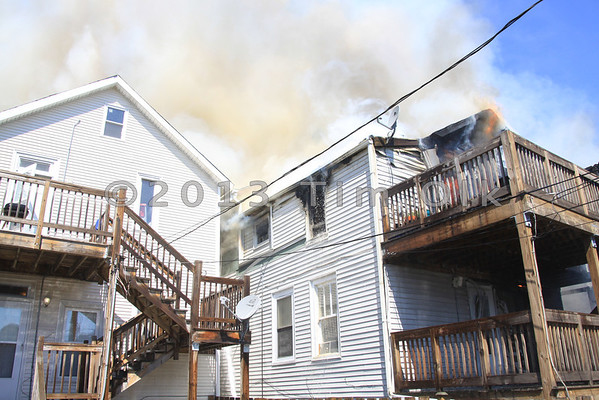 Chicago Fire Department 3-1 Alarm Fire 4425 S. Union 4 2 1/2 Story Frames Well Involved 7-13-2013