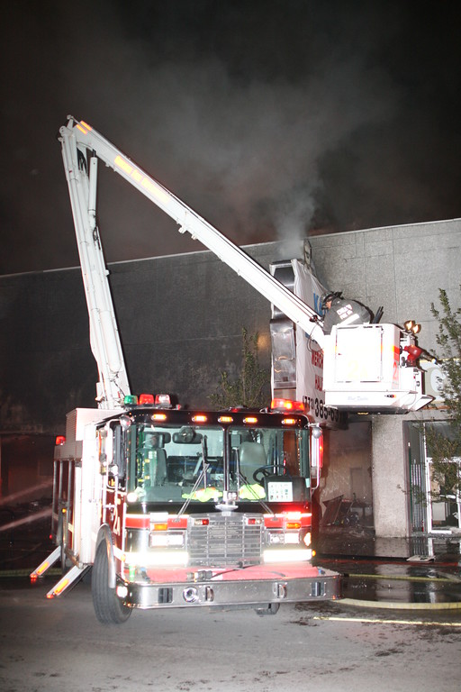 CFD 3-11 Alarm Fire 5617 West Belmont Ave 2 Story Commercial 40 x 125 Fully Involved
