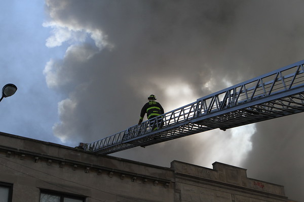 Chicago Fire Department 3-11 Alarm Fire  2943 N Milwaukee Ave  3 Story 50x125
