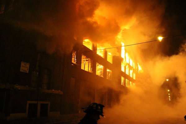 Chicago Fire Department 5-11 Alarm Fire With 2 Specials 3757 South Ashland 4 Story 300x300 Mill Construction With Communication To A 2nd 4 Story Building