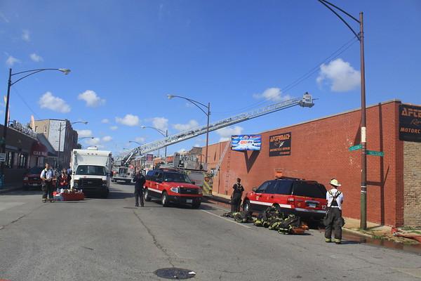 Chicago Fire Dept 5-11 Alarm Fire & Level 1 Haz-Mat Nelson & Elston