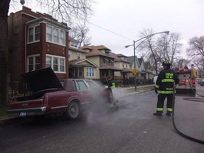 CFD Car Fire Engine 113 Adams & Lotus