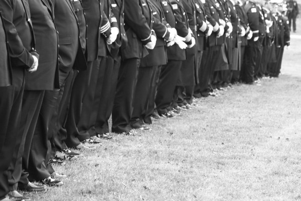 Chicago Fire Department Captain Herbert ( Herbie) Johnson 5th District Relief Funeral 11-8-2012