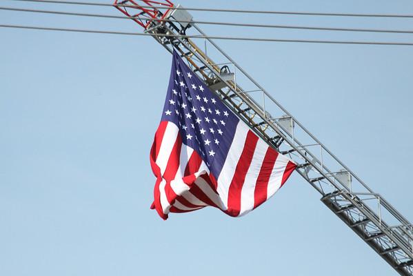 Chicago Fire Department FireFighter Jason Mayoski Funeral