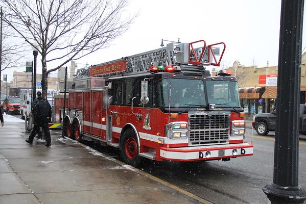 Chicago Fire Department Lt John Leonard From Truck Co#20 Funeral