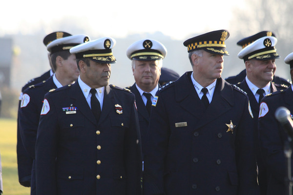 Chicago Fire Department Funeral Services For Fire Fighter Walter Patmon Jr