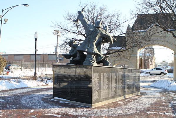 Chicago Fire Department Stockyard Memorial