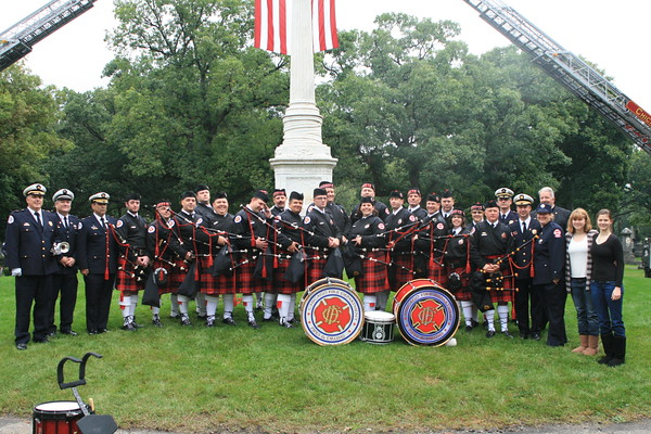 CFD Union Local No# 2 29th Annual Memorial Service At Rosehill Cemetery 5800 N. Ravenswood Chicago Illinois 10:00am