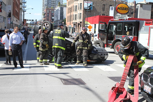 Chicago Fire Department Rollover Pin In  Lasalle & Grand