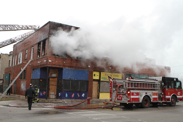 Chicago Fire Department Working Fire 6053 S. Champlain