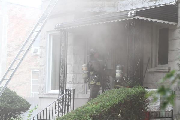 Chicago Fire Department Working Fire 3933 w. Flournoy