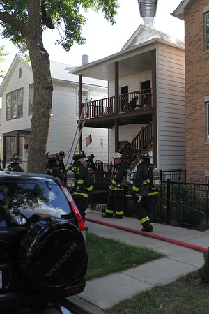 Chicago Fire Department Working Fire 3146 S. Emerald