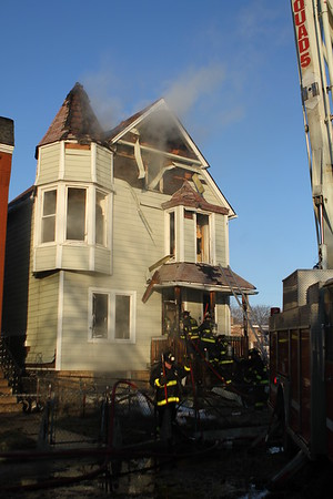 Chicago Fire Department Still & Box Alarm Fire 6352 S Evans
