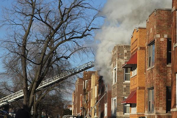 Chicago Fire Dep Still & Box 79th & Paulina