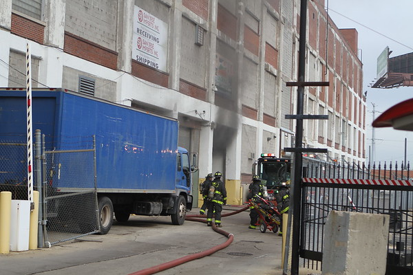 Chicago Fire Department Still & Box Alarm Fire 2600 w. 35th Street Auto In A Factory 200x600