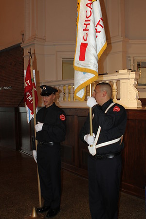 Chicago Fire Department Candidate Firefighter EMT Graduation Ceremony Oct 20,2016 Navy Pier