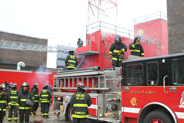 Chicago Fire Department Winter 2016 Academy