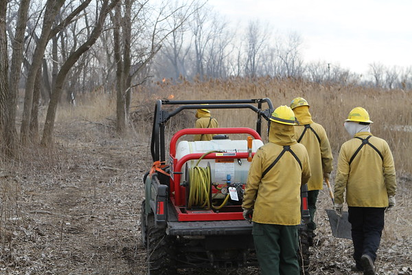 Chicago Fire Department Brush Fire 12000 S. Torrence