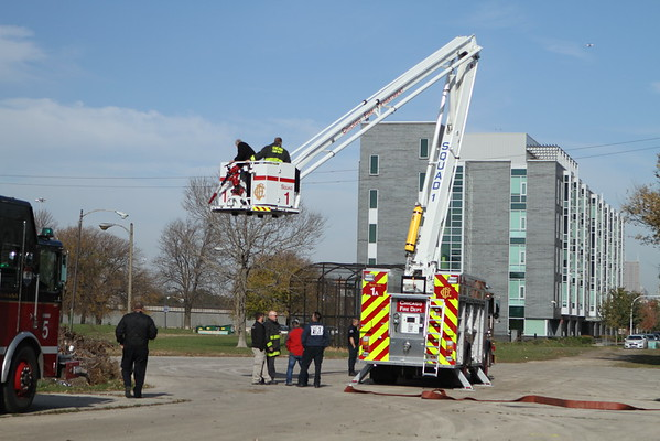 Chicago Fire Department New Squad Training  and New Squad 1