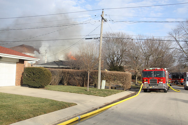 Lincolnwood Fire Department Code 4 Working Fire Kilpatrick & Albion