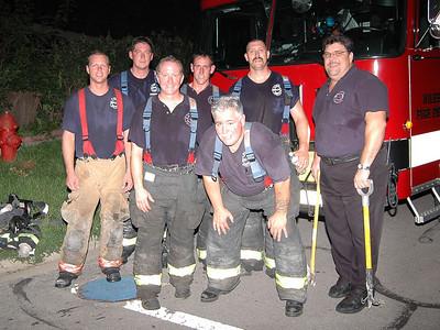 Morton Grove Fire Department Code 4 Working House Fire 7804 Luna 08/22/07