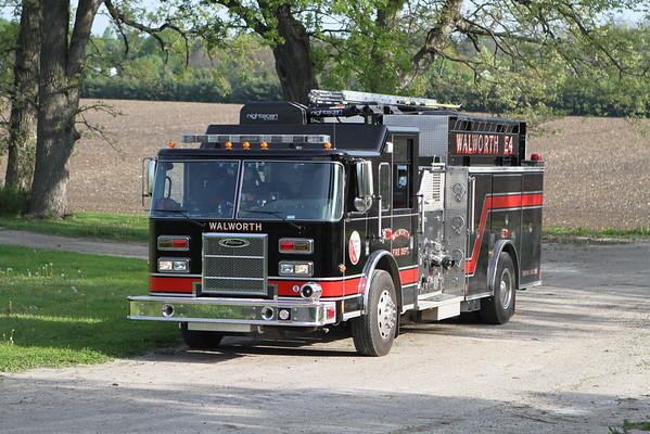 Walworth Wisconsin Live Fire Training Ridge Road